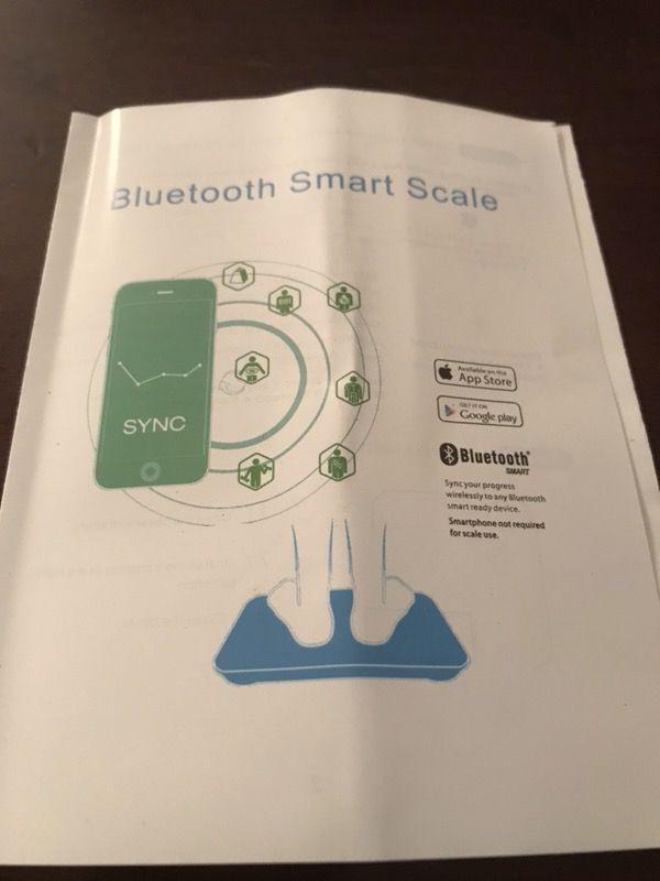 New Bluetooth Bathroom Scale!