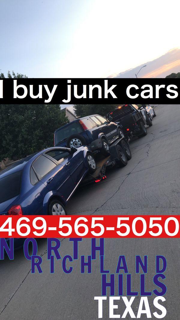 We buy junk cars (Cars & Trucks) in Grand Prairie, TX - OfferUp
