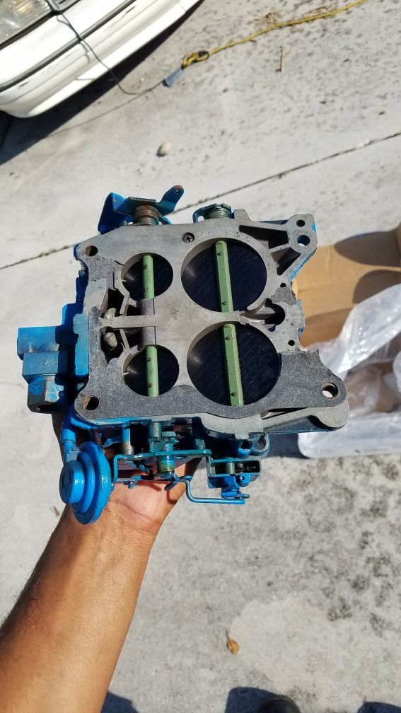 Rochester Marine Quadrajet Carburetors for 454, Fresh Rebuild, Have TWO for  Sale in Fort Lauderdale, FL - OfferUp