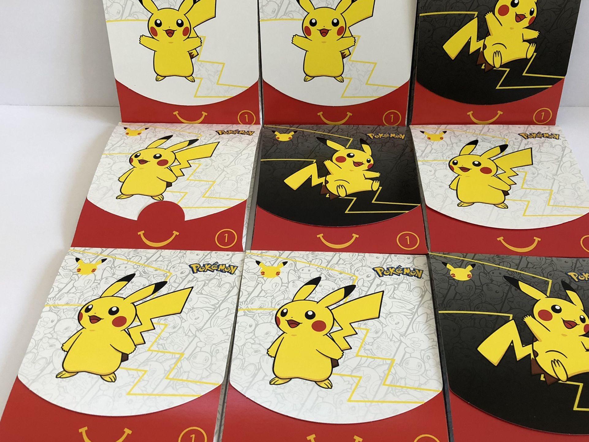 McDonald's 2021 Pokémon Packs (9)