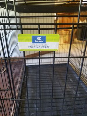 Top Paw dog crate large for Sale in Visalia, CA