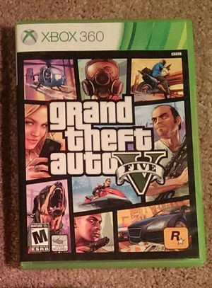 XBOX 360 Grand Theft Auto V for Sale in Severn, MD