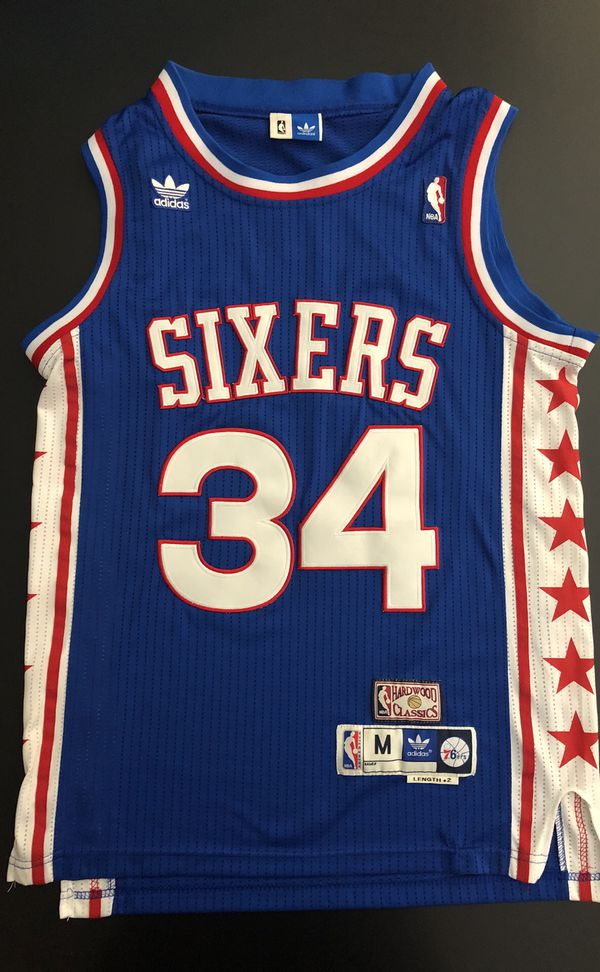 51b71792b Adidas NBA Throwback Jersey Philadelphia 76ers Charles Barkley - Sz ...