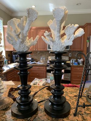 Coral table stands for Sale in Miami, FL