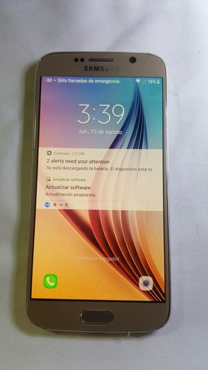Samsung galaxy s6 unlocked for Sale in Purcellville, VA