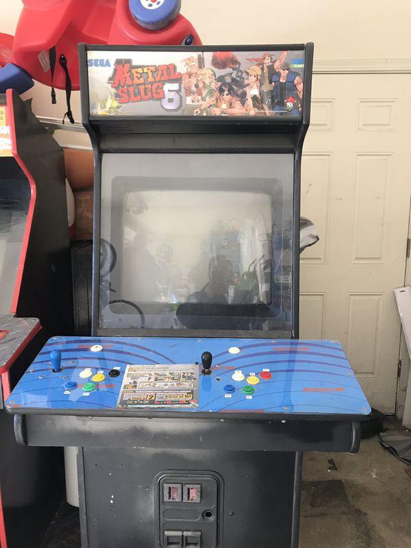 Metal slug 5 atomiswave arcade for Sale in CARPENTERSVLE, IL - OfferUp