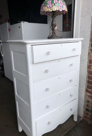 Antique dresser with lamp for Sale in PA, US