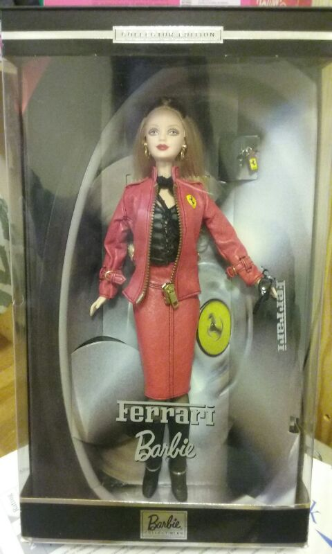 barbie ferrari collector edition doll 2000