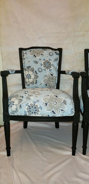 Pair Of Vintage Reupholstered Chairs For In New Orleans La