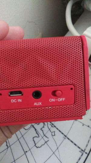 Red Bluetooth speaker for Sale in Silver Spring, MD