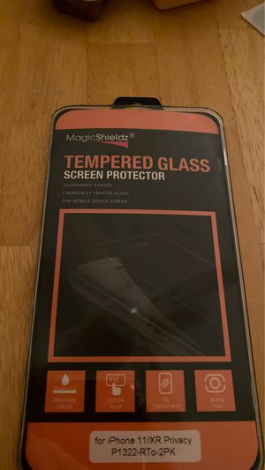 Photo Tempered glass screen protector for iPhone 11 and iPhone Xr