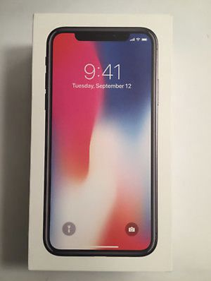 Apple iPhone X - 64GB - Space Gray (AT&T) for Sale in Severna Park, MD