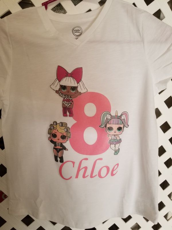 1db35af8 Lol Surprice Doll Birthday Shirt for Sale in Perris, CA - OfferUp