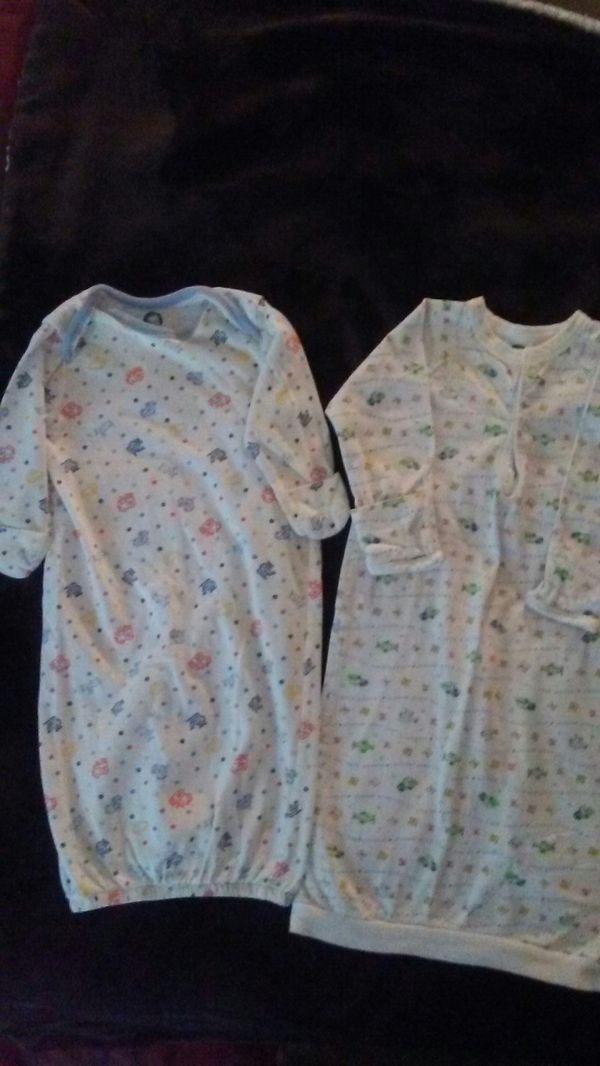 Boy sleeper gowns. 0-6 months for Sale in Victorville, CA - OfferUp
