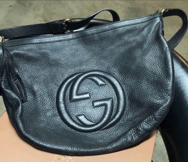 9f0a1b88cccc52 Gucci soho crossbody plus zippy wallet for Sale in San Bernardino ...
