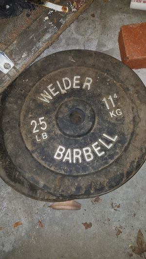 25LB barbell for Sale in Los Angeles, CA