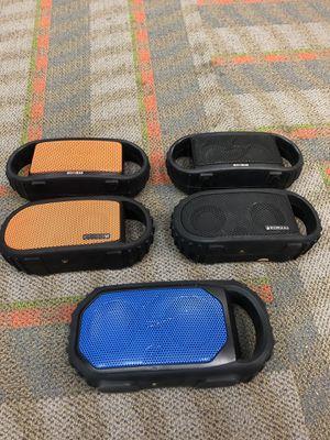 Lot of 5 ecoxgear Bluetooth wireless indoor speaker for Sale in Renton, WA