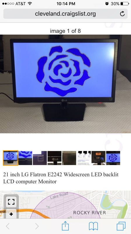 LG monitor Flatron E2242 for Sale in Rocky River, OH - OfferUp