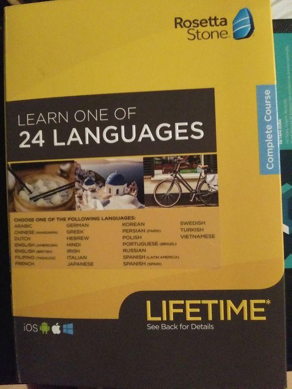 Rosetta Stone Complete Course for Sale in Honolulu, HI - OfferUp