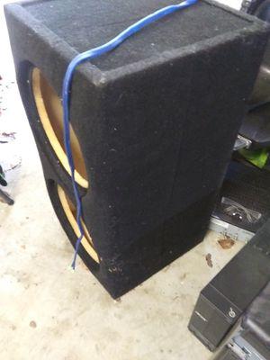 Photo Custom subwoofer box enclosed