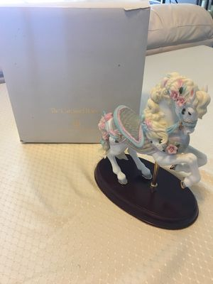 """The Carousel Horse"" Fine Porcelain Lenox Vintage Collector Horse With Original Box $75 for Sale in Arlington, VA"