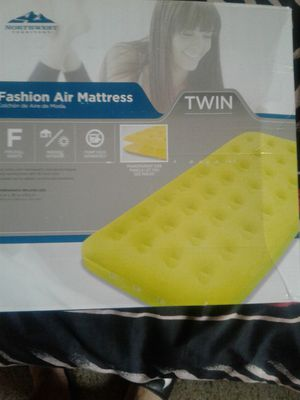Fashion twin size air mattress brand new for Sale in Rockville, MD