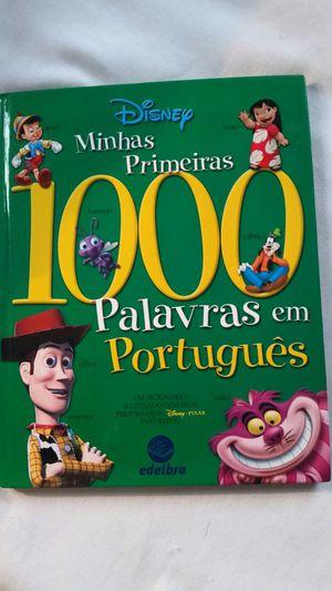 DISNEY CHILDRENS BOOK - PALAVTAS EM PORTUGUES for Sale in Miami, FL