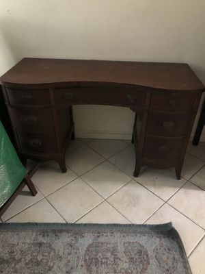 Antique vanity! All cherry wood! In Daytona Beach Shores for Sale in Maitland, FL