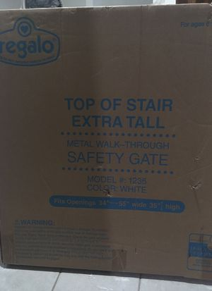 Unopened box: baby gate for Sale in Reston, VA