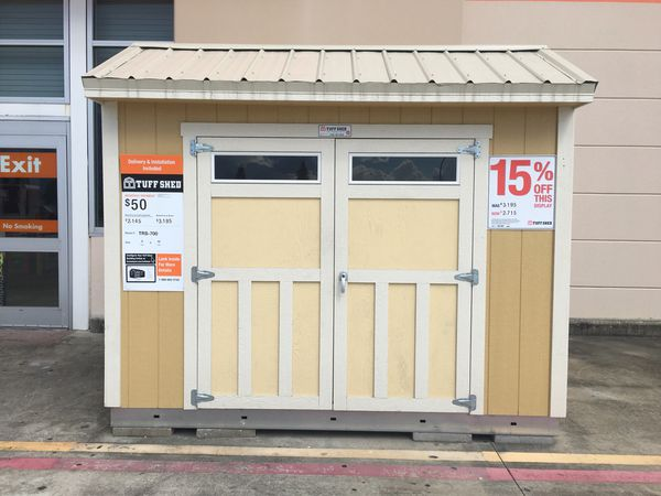 Tuff Shed Trs700 8x 10 At Home Depot Gonzales For Sale In Gonzales
