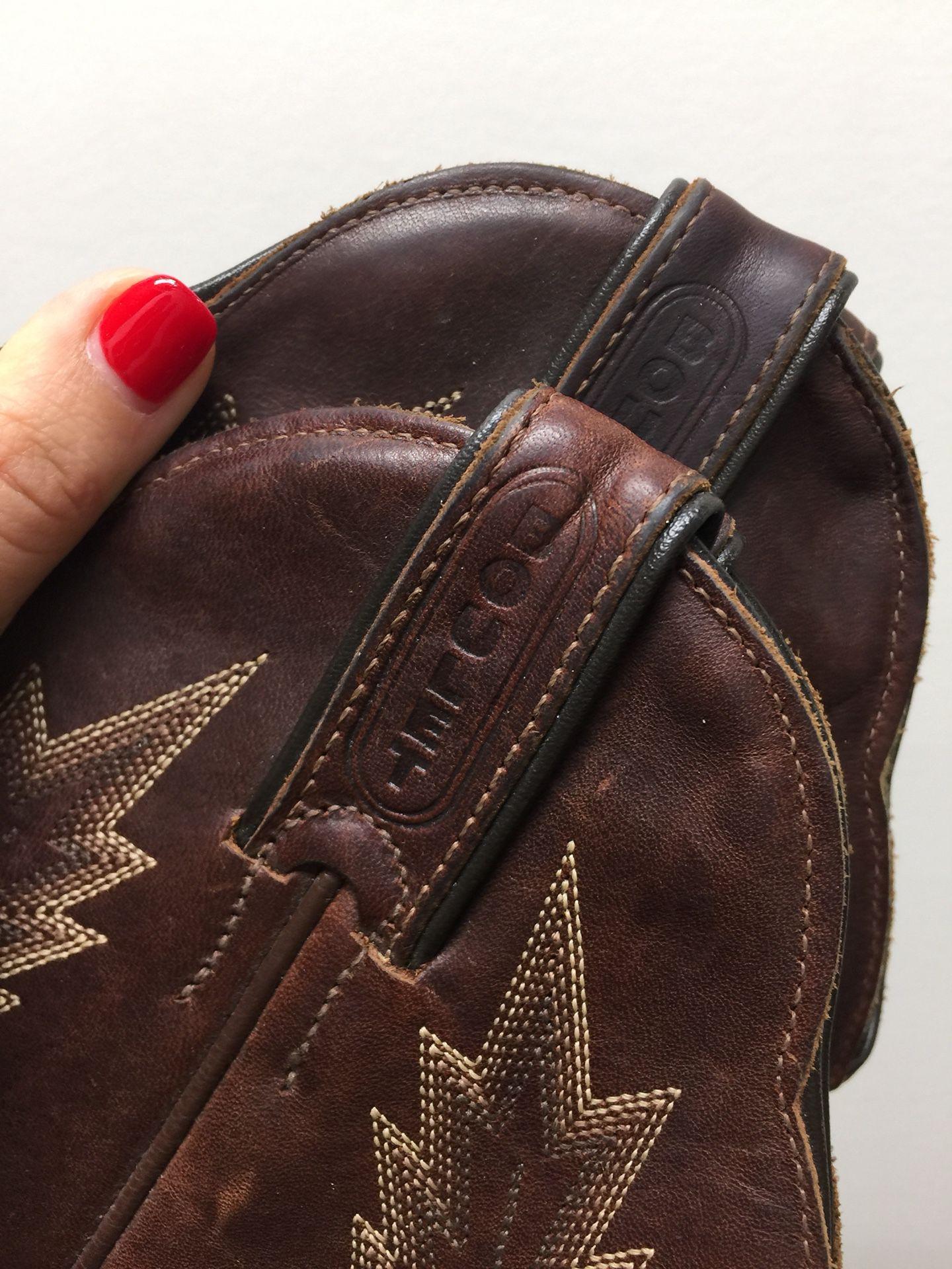 Boulet Cowboy Boots 7.5
