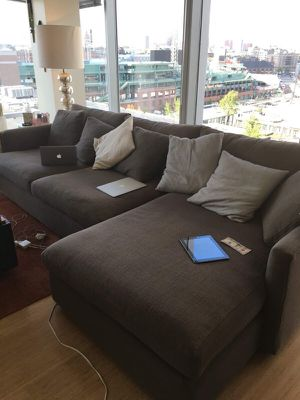 Crate and barrel sofa for Sale in Boston, MA