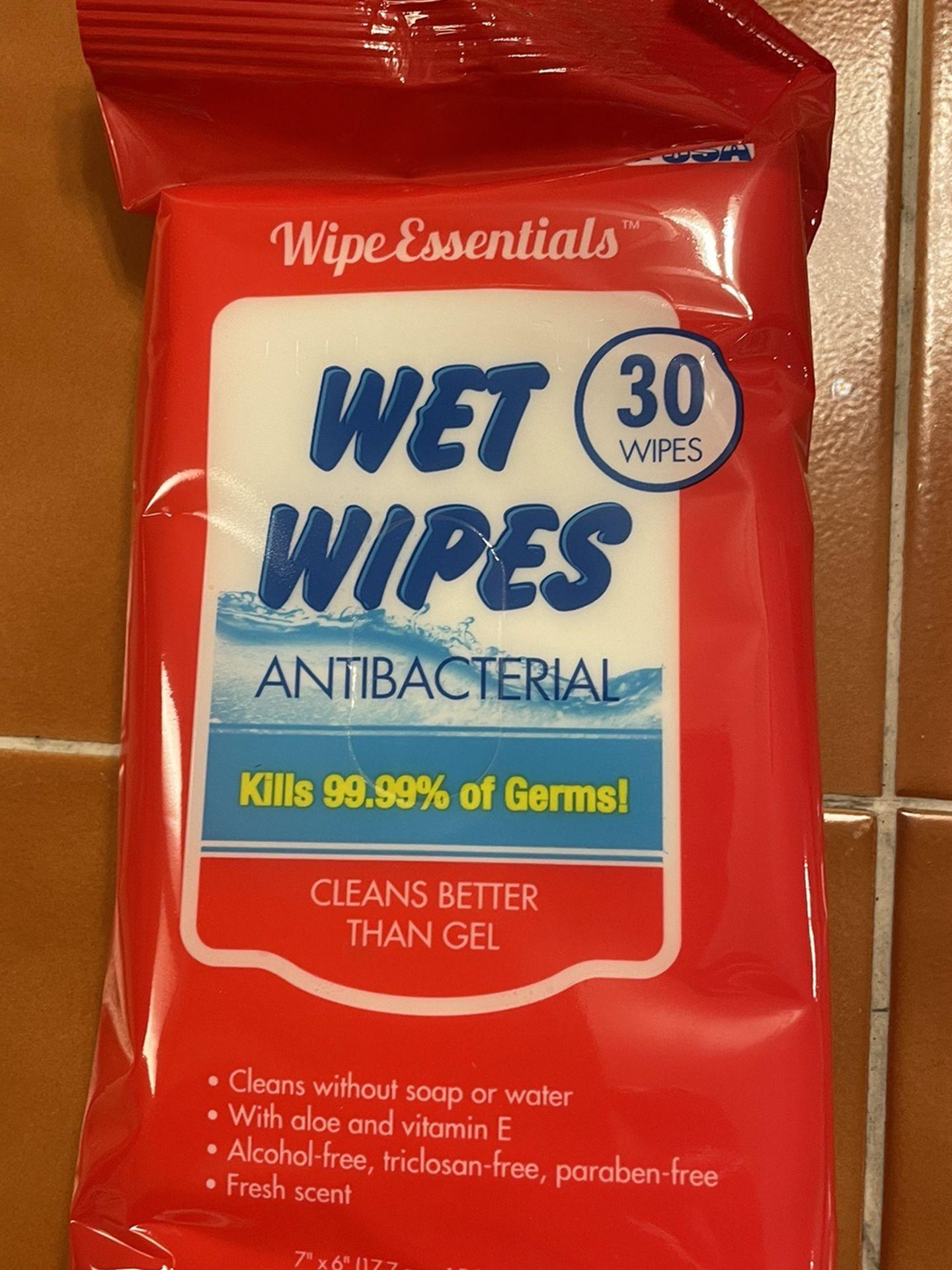 Brand New Antibacterial Wet Wipes