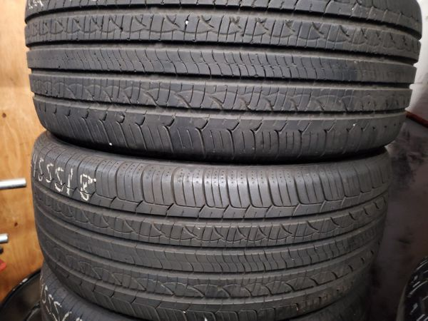 4 used tires 245 55 18