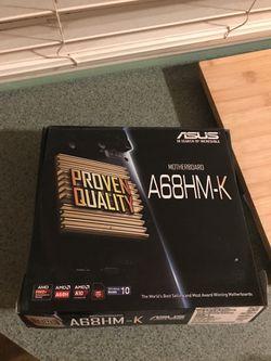 ASUS Motherboard (A68HM-K) Thumbnail
