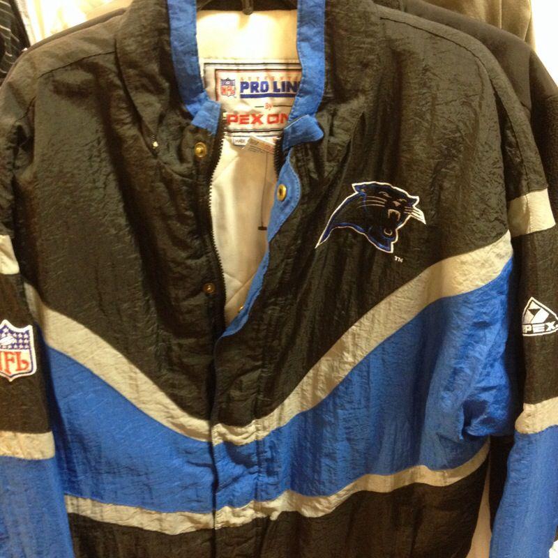 Vintage Carolina Panthers Pro Line Apex One Jacket szL