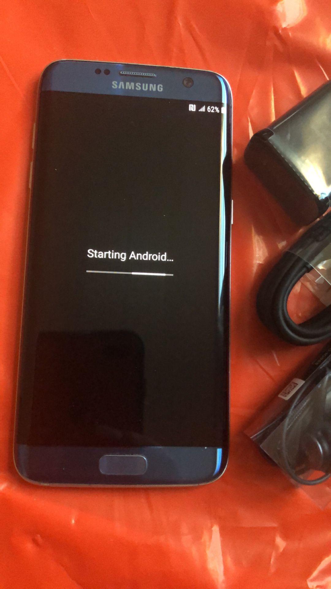 Samsung galaxy s7 edge unlocked , store warranty