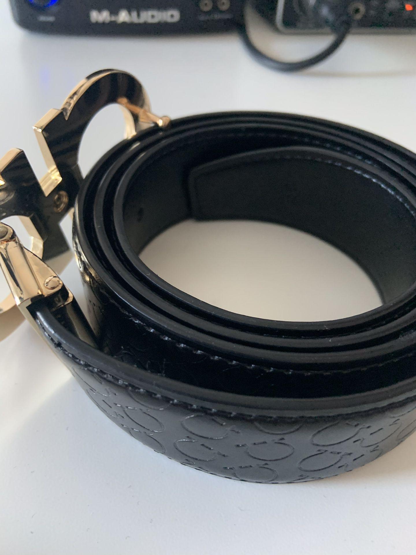 Men's feragamo belt size 36