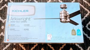 Kichler Arkwright 3 Blade Indoor Ceiling Fan for Sale in Annandale, VA