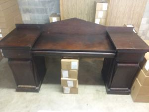 Large antique commercial desk for Sale in Alexandria, VA