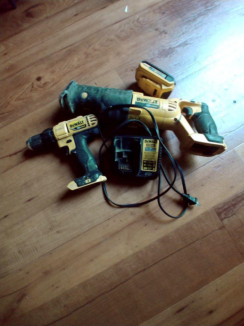 Drill Reciprocating saw
