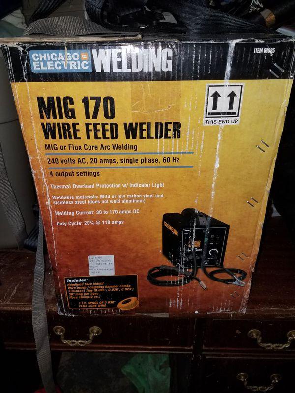 Welder mig 170 240 volt for Sale in Casselberry, FL - OfferUp