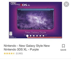 Nintendo 3Ds xl galaxy style for Sale in Augusta, GA