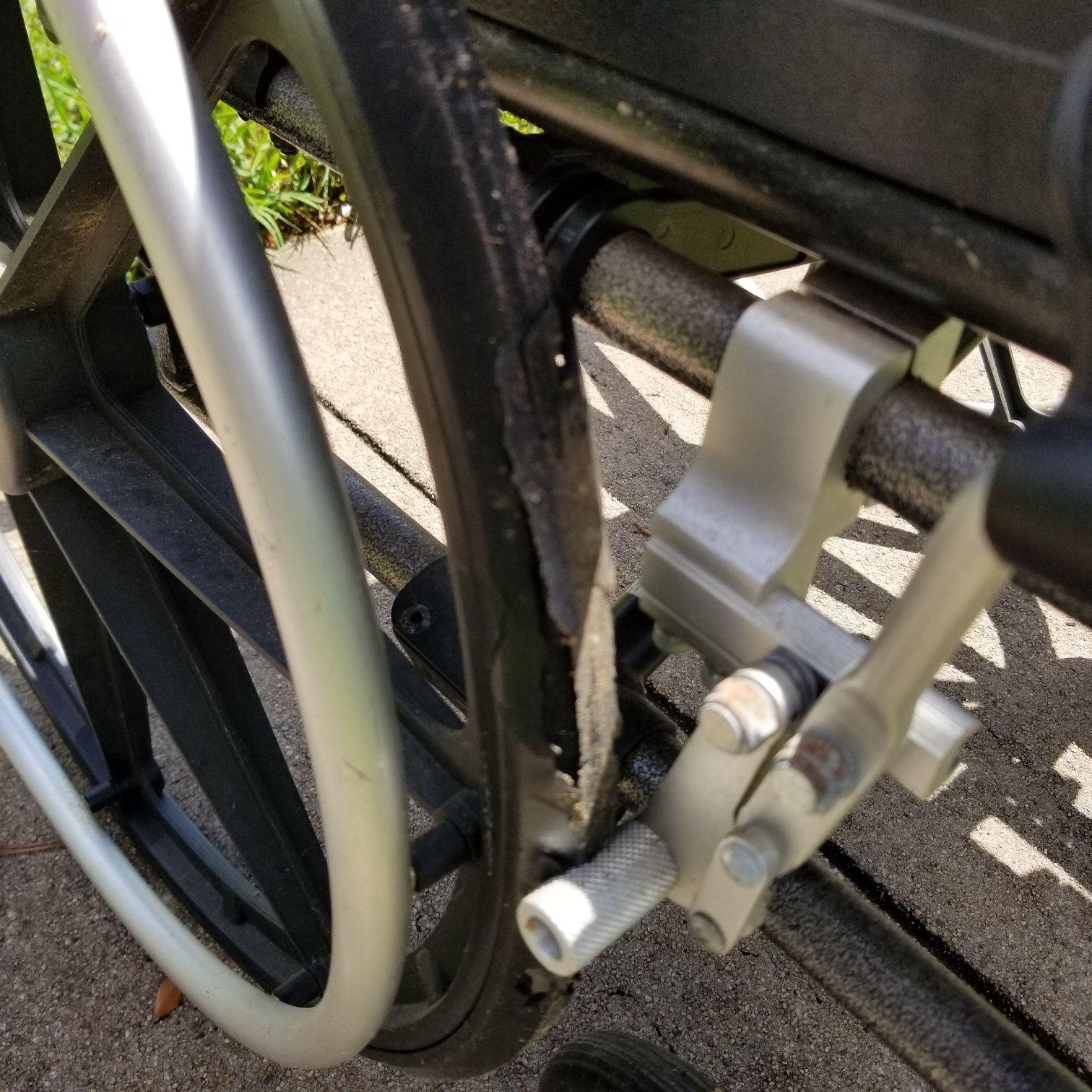 Breezy ultra 4 wheel chair