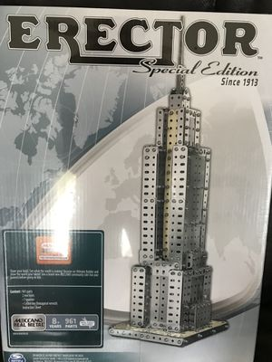 NIB Erector Set Empire State Building (all metal) for Sale in Rustburg, VA