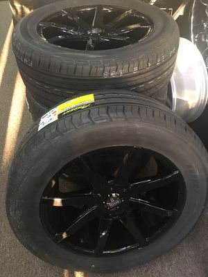 """20"""" DUBS WHEELS AND TIRES for Sale in Atlanta, GA"""