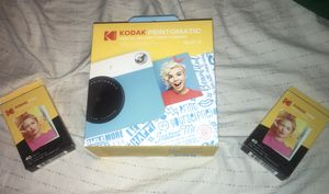 2018 Kodak Printomatic + 2 Packs of Photo Paper for Sale in Weldon Spring, MO
