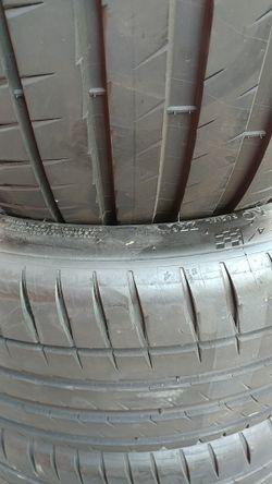 255 40 20 set of 4 Michelin pilot sport Thumbnail