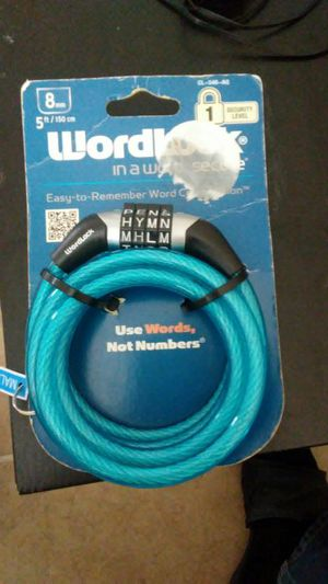 Wordlock bike chain for Sale in Scottsdale, AZ