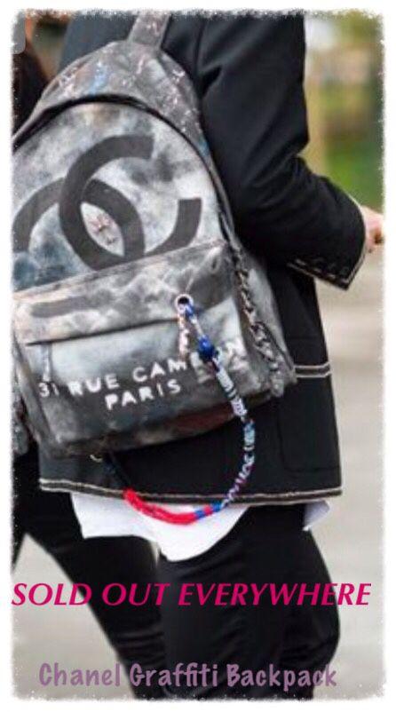 d60e2d4118ba Chanel Graffiti Backpack - Designer Purse for Sale in The Woodlands ...